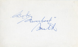 BOB RIVERBOAT SMITH - AUTOGRAPH