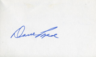 DAVE POPE - AUTOGRAPH