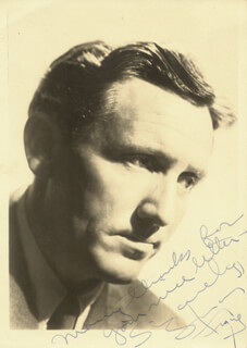 SPENCER TRACY - AUTOGRAPHED SIGNED PHOTOGRAPH