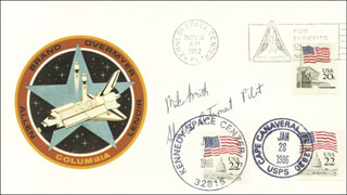 CAPTAIN MICHAEL J. SMITH - ENVELOPE SIGNED