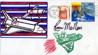 RONALD E. McNAIR - ENVELOPE SIGNED 11/12/1981