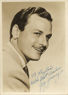 GIG YOUNG - AUTOGRAPHED INSCRIBED PHOTOGRAPH
