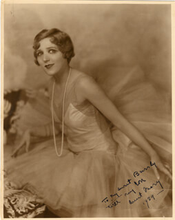MARY PICKFORD - AUTOGRAPHED INSCRIBED PHOTOGRAPH 1929