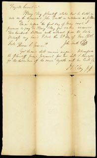Autographs: HENRY CLAY - AUTOGRAPH DOCUMENT SIGNED 08/22/1807