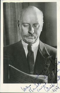 SIR ADRIAN C. BOULT - AUTOGRAPHED SIGNED PHOTOGRAPH 1949