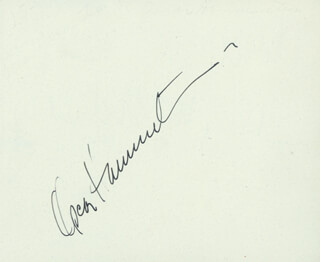 Autographs: OSCAR HAMMERSTEIN II - SIGNATURE(S) CO-SIGNED BY: RAY MILLAND
