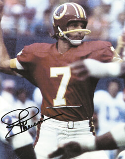 JOE THEISMANN - AUTOGRAPHED SIGNED PHOTOGRAPH