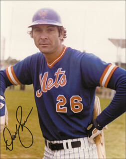 DAVE KINGMAN - AUTOGRAPHED SIGNED PHOTOGRAPH
