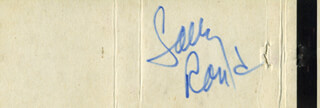 SALLY RAND - MATCH BOOK SIGNED CIRCA 1968