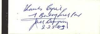 JACK DEMPSEY - INSCRIBED MATCH BOOK SIGNED 02/25/1963