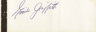 EMILE GRIFFITH - MATCH BOOK SIGNED