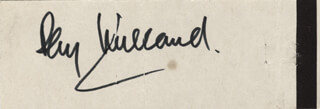 RAY MILLAND - MATCH BOOK SIGNED CIRCA 1966