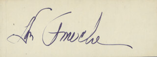 Autographs: DON AMECHE - MATCH BOOK SIGNED CIRCA 1964