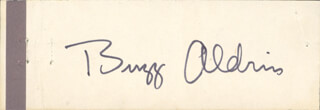 Autographs: COLONEL BUZZ ALDRIN - SIGNATURE(S) CIRCA 1969