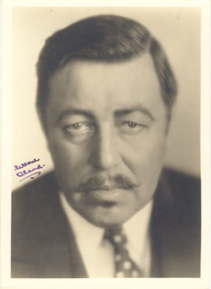 WARNER OLAND - AUTOGRAPHED SIGNED PHOTOGRAPH