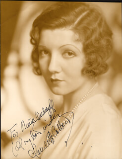 CLAUDETTE COLBERT - AUTOGRAPHED INSCRIBED PHOTOGRAPH