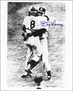 DON LARSEN - AUTOGRAPHED SIGNED PHOTOGRAPH