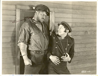 WALLACE BEERY - AUTOGRAPHED SIGNED PHOTOGRAPH