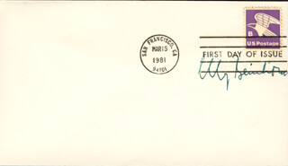 ELLY BEINHORN - FIRST DAY COVER SIGNED
