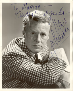 VAN JOHNSON - AUTOGRAPHED INSCRIBED PHOTOGRAPH