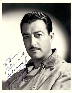ROBERT TAYLOR - AUTOGRAPHED INSCRIBED PHOTOGRAPH