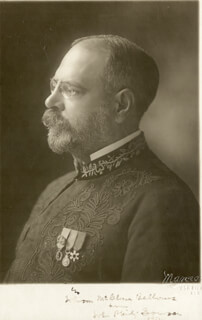JOHN PHILIP THE MARCH KING SOUSA - AUTOGRAPHED SIGNED PHOTOGRAPH 1912