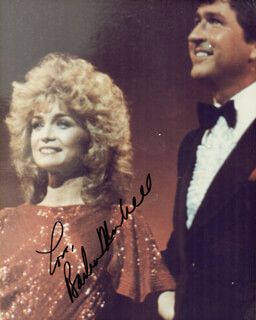BARBARA MANDRELL - AUTOGRAPHED SIGNED PHOTOGRAPH