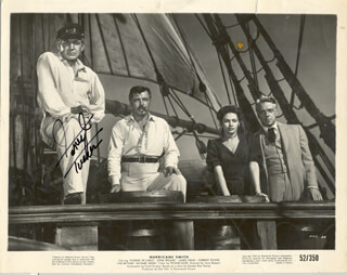 FORREST TUCKER - AUTOGRAPHED SIGNED PHOTOGRAPH