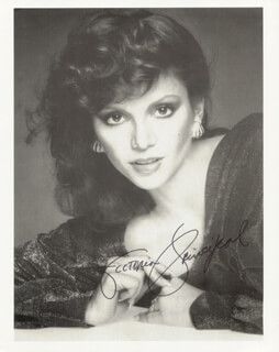 VICTORIA PRINCIPAL - AUTOGRAPHED SIGNED PHOTOGRAPH