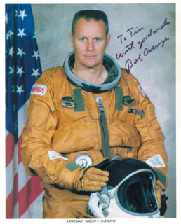 COLONEL ROBERT OVERMYER - AUTOGRAPHED INSCRIBED PHOTOGRAPH
