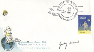 JUDITH A. JUDY RESNIK - COMMEMORATIVE ENVELOPE SIGNED