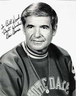 DAN DEVINE - AUTOGRAPHED INSCRIBED PHOTOGRAPH