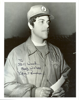 KEN PERRONE - AUTOGRAPHED INSCRIBED PHOTOGRAPH