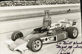 MARIO ANDRETTI - AUTOGRAPHED INSCRIBED PHOTOGRAPH