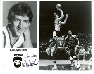 PAUL WESTPHAL - AUTOGRAPHED INSCRIBED PHOTOGRAPH