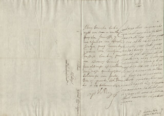 KING PHILIP IV (SPAIN) - AUTOGRAPH LETTER SIGNED 01/14/1652 CO-SIGNED BY: COUNTESS OF SALVATIERRA (ANTONIA MARCELA DE ACUÑA Y GUZMAN)