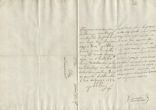 KING PHILIP IV (SPAIN) - AUTOGRAPH LETTER SIGNED 01/20/1652 CO-SIGNED BY: COUNTESS OF SALVATIERRA (ANTONIA MARCELA DE ACUÑA Y GUZMAN)