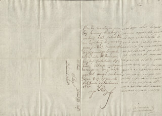 KING PHILIP IV (SPAIN) - AUTOGRAPH LETTER SIGNED 01/26/1652 CO-SIGNED BY: COUNTESS OF SALVATIERRA (ANTONIA MARCELA DE ACUÑA Y GUZMAN)