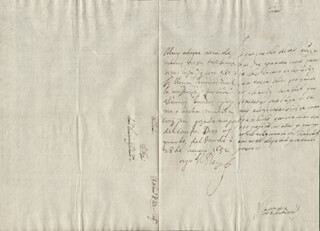 KING PHILIP IV (SPAIN) - AUTOGRAPH LETTER SIGNED 01/28/1652 CO-SIGNED BY: COUNTESS OF SALVATIERRA (ANTONIA MARCELA DE ACUÑA Y GUZMAN)