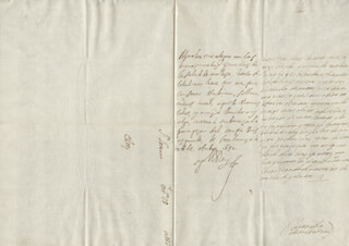 KING PHILIP IV (SPAIN) - AUTOGRAPH LETTER SIGNED 10/28/1652 CO-SIGNED BY: COUNTESS OF SALVATIERRA (ANTONIA MARCELA DE ACUÑA Y GUZMAN)