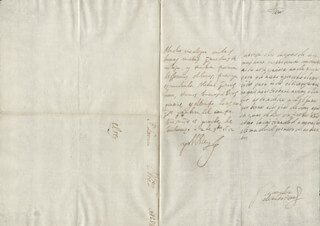 KING PHILIP IV (SPAIN) - AUTOGRAPH LETTER SIGNED 11/02/1652 CO-SIGNED BY: COUNTESS OF SALVATIERRA (ANTONIA MARCELA DE ACUÑA Y GUZMAN)