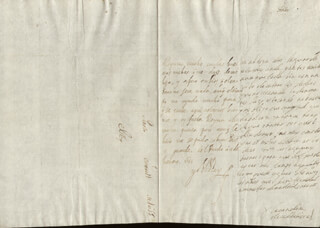KING PHILIP IV (SPAIN) - AUTOGRAPH LETTER SIGNED 01/11/1655 CO-SIGNED BY: COUNTESS OF SALVATIERRA (ANTONIA MARCELA DE ACUÑA Y GUZMAN)