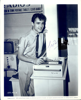 SAL MINEO - PRINTED PHOTOGRAPH SIGNED IN INK