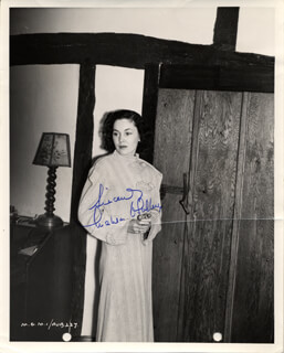 MAUREEN O'SULLIVAN - AUTOGRAPHED SIGNED PHOTOGRAPH