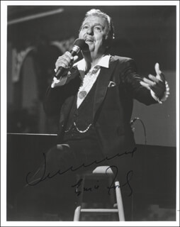 TENNESSEE ERNIE FORD - AUTOGRAPHED SIGNED PHOTOGRAPH