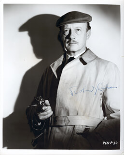 ROLAND CULVER - AUTOGRAPHED SIGNED PHOTOGRAPH