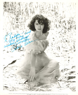 VALERIE ALLEN - AUTOGRAPHED INSCRIBED PHOTOGRAPH