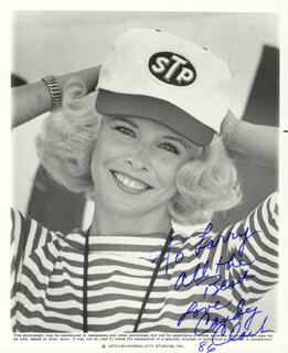 CANDY CLARK - AUTOGRAPHED INSCRIBED PHOTOGRAPH 1986