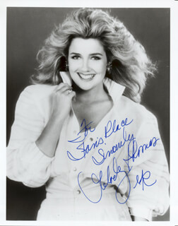 MELODY THOMAS - AUTOGRAPHED INSCRIBED PHOTOGRAPH