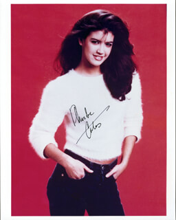 PHOEBE CATES - AUTOGRAPHED SIGNED PHOTOGRAPH